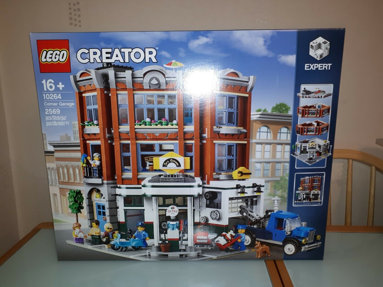 Lego Creator Expert Corner Garage Set 10264  Brand New In Sealed Box