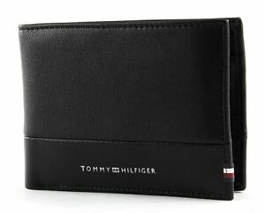 TOMMY-HILFIGER-Extra-CC-and-Coin-Wallet-Black