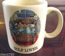 """PRE-OWNED 1984 THE GARY PATTERSON SPORTS COLLECTION """"GOLF LOVER"""" BY ROYAL ORLEAN"""