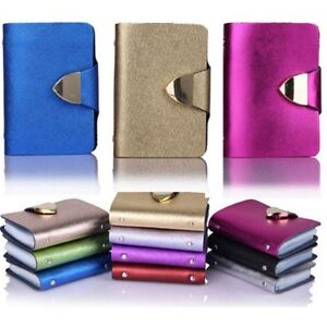 Fashion-Case-Wallet-ID-Credit-Card-Holder-Purse-For-26-Cards-Women-Package