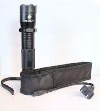 Mini Powerful Stun Gun Bright LED Flashlight Recharging Personal Defense Weapon