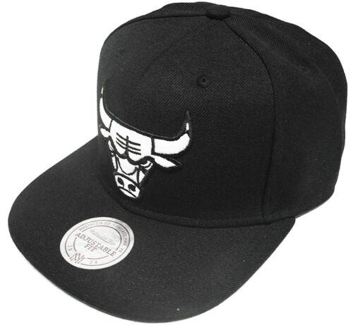 Mitchell /& Ness Chicago Bulls Logo Series Snapback VE31Z Cap Kappe Basecap New