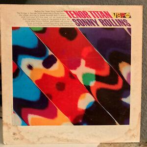 SONNY-ROLLINS-Tenor-Titan-12-034-Vinyl-Record-LP-VG