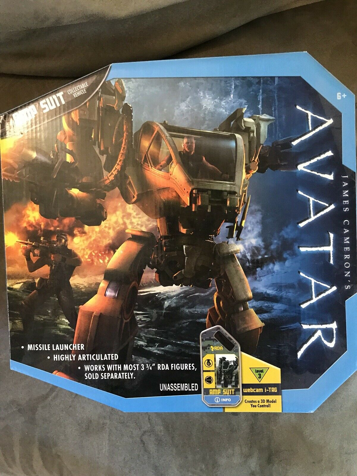 Avatar AMP Suit New In Package Mattel