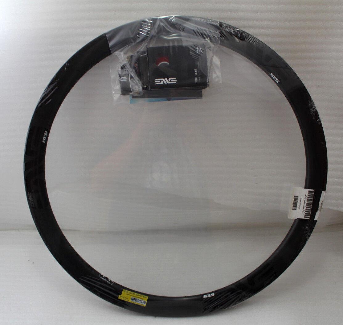 Enve Ses 42mm G2 Tubeless Listo Cubierta Carbon Disco Llanta 700c 24h black