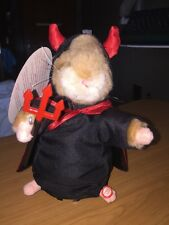 Gemmy Animated He Devil Hot Stuff Hamster 2004 With Hang Tag