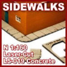 Proses LS-019 NEW N SCALE SIDEWALKS CONCRETE