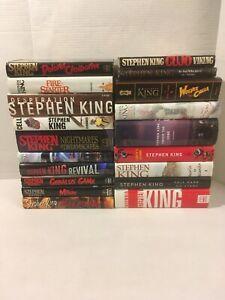 Stephen king uk book signing