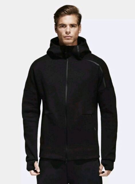 adidas Men's Zne Heathered Zip Hoodie | Adidas z, Adidas