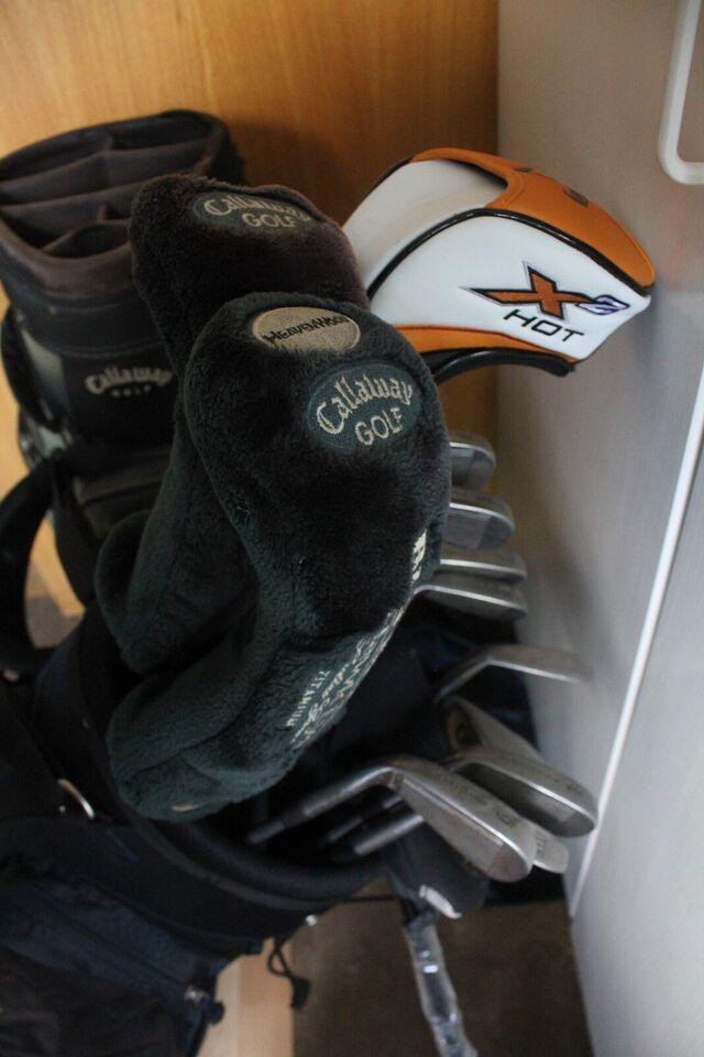 Begynder golfsæt, stål, Dry Pocket