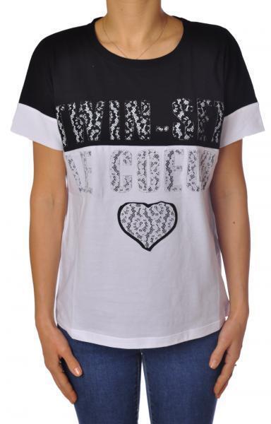 Twin Set - Topwear-T-shirts - Woman - Weiß - 2375108E190655