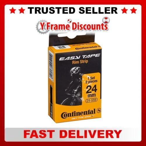 Continental Facile Bande 700 C HP rim tape 16 mm-Pack de 2