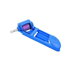 Drill-Bit-Sharpener-Ez-W-1-4-Hex-Shank-Blunt-Parts-100-Grit-Grinding-Stone