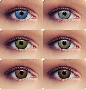 farbige kontaktlinsen geeignet f r dunkle augen dimension mit oder ohne st rke ebay. Black Bedroom Furniture Sets. Home Design Ideas