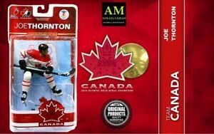 Mcfarlane-Team-Canada-2010-Olympia-Vancouver-Joe-Thornton-Nuovo-Originale