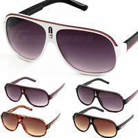 Mens Fashion Sunglasses Aviator Shades Turbo Black Red White 6 Colors New IG9178