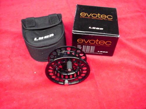 Evotec SPOOL Reel Fly Loop MODEL NEW GREAT ONLY Spool Extra