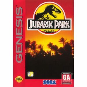 Jurassic-Park-Sega-Genesis-Game-CLEAN-VG