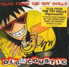 Olga From The Toy Dolls(Signed CD Album)Olgacoustic-Secret-SECCD129-UK-New