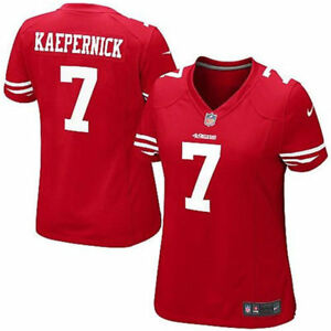 e5d17985d76 San Francisco 49ers Nike NFL  7 Colin Kaepernick Red Women s Limited ...