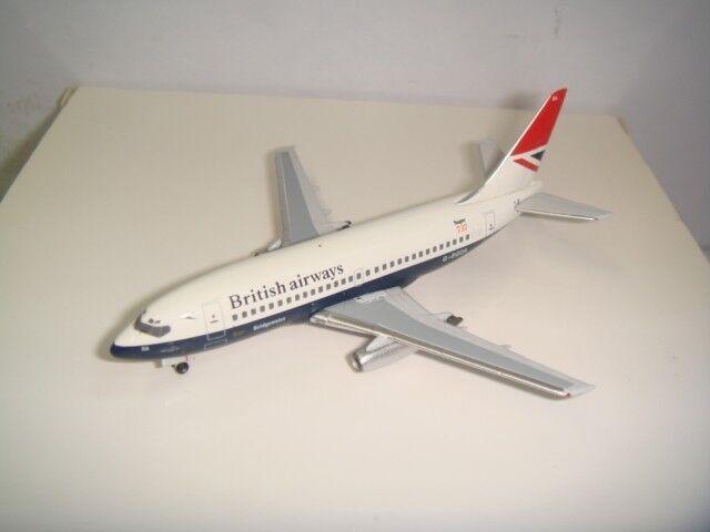 Aeroclassics 400 British Airways BA B737-200  1970s Coloreee - Bridgewater  1 400