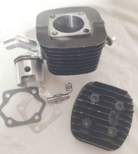 "47mm 80CC Motor Bicycle Engine Cylinder Head Piston 8mm black 1 1//16/""  high hole"
