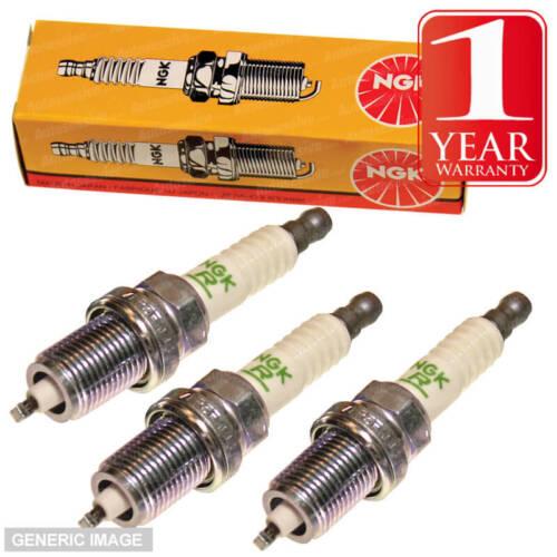 BKUR 6ETB-10 5742 DAIHATSU YRV 1.3 4x4 1.3 Gtti 1.3 NGK Spark Plugs x3