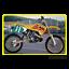 Aufkleber-Grafiken-Suzuki-RM-125-250-1993-1994-1995-Komplett-Set-Team-1993-Cross Indexbild 2