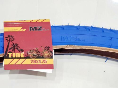 42-622 700X38 TIRE 28X1.75  ONE HIGH QUALITY BLUE  BICYCLE STREET TIRE
