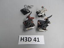 Warhammer Fantasy AoS 4 oop metal Skaven Gutter Runners b