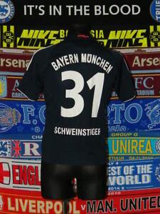 hot sale online 5baa1 eef5f Details about 5/5 Bayern Munich boys 14 yrs 164cm MINT football shirt  jersey trikot camiseta