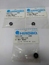 3 Stk Hirobo 0403-226 Lüfterrad Zentralstück U-Scheibe Fly Wheel Washer (For 46)