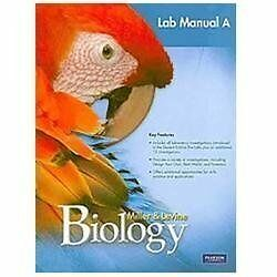 miller levine biology 2010 laboratory manual a grade 9 10 rh ebay com prentice hall biology laboratory manual b prentice hall's biology exploring life laboratory manual