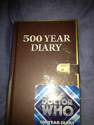 Dr who 500 year hardback diary plain pages journal