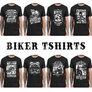 Vintage Biker T-shirts Retro Motorcycle Club Style Américain Hommes Femmes Enfants L189-afficher Le Titre D'origine