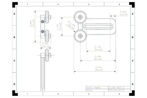 """3/"""" Modular Lens support 4 Kirk Markins Wimberley acratech foba benro arca swiss"""