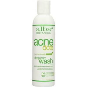 ALBA BOTANICA: Natural Acne Dote Deep Pore Wash Oil-Free, 6 oz