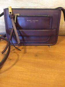 Marc-Jacobs-Madison-Rubino-Mini-Burgundy-Crossbody-Handbag-New-295