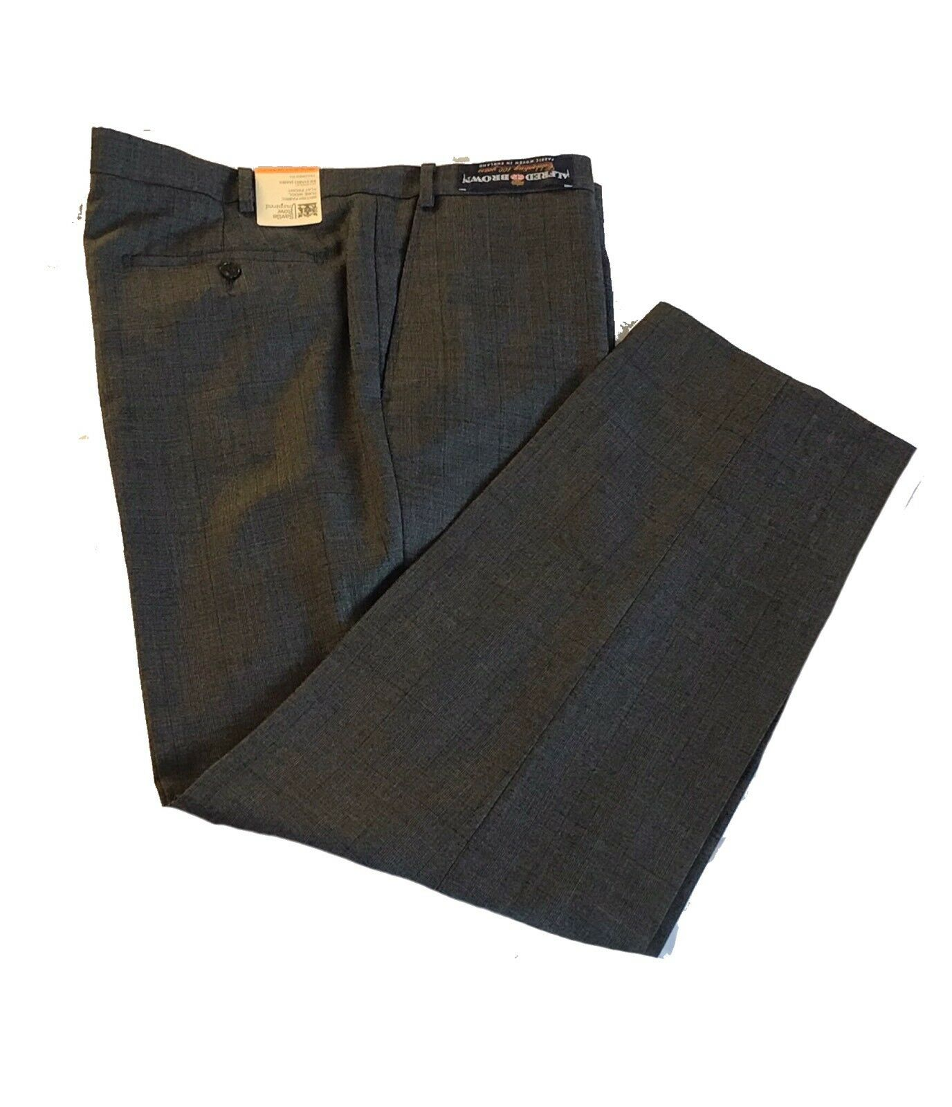 M&S Mens Savile Row Inspired  Tailored Fit Merino PURE WOOL Trousers 44 31