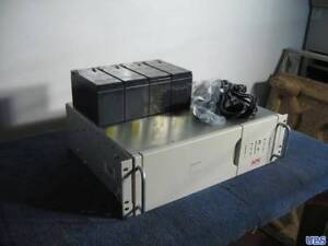 APC-700-3u-rackmount-UPS-new-cells-12-Month-RTB-warranty