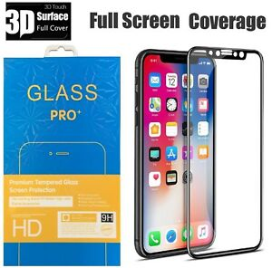 For-Apple-iPhone-X-Full-Coverage-Tempered-Glass-Screen-Protector-HD-Cover-Film