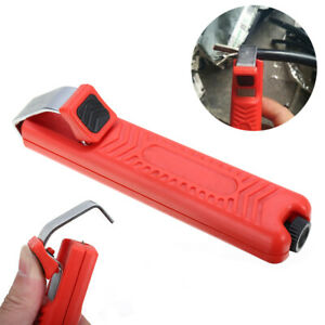 Coaxial Cable Cutter Stripping Cable Stripper Tool For 8-28mm PVC Wire Cable