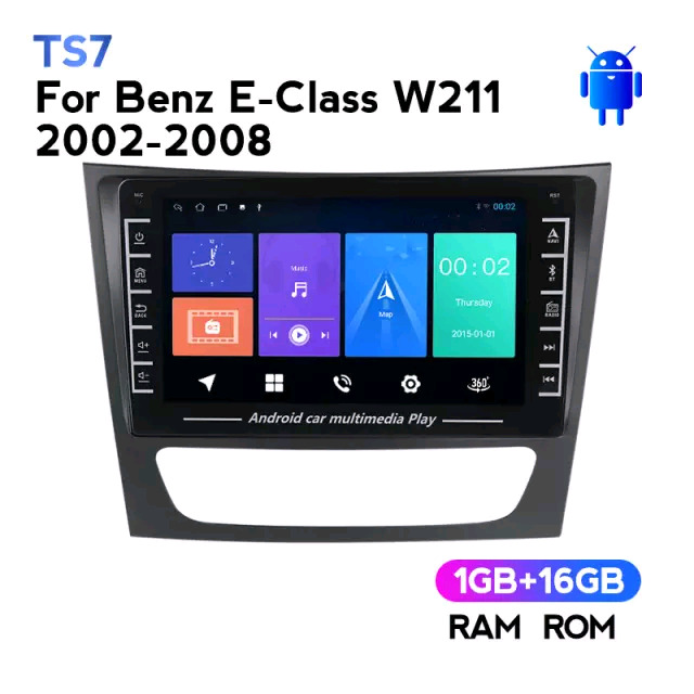 Android Car Radio for W211 benz