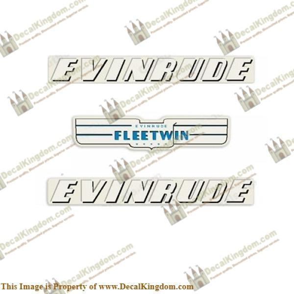 EVINRUDE 1936-1941 1.8HP ELTO ACE DECAL KIT Outboard Decal Kit 3M Marine Grade