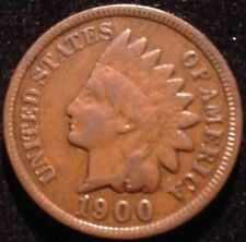 US COIN - 1900 Indian Head Cent / (pick Quarter S.1 box )