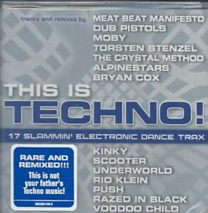 Details about VARIOUS ARTISTS - THIS IS TECHNO [WATER MUSIC] NEW CD