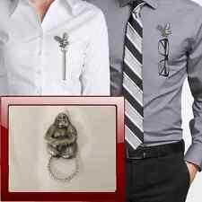 Gorilla r87 Peltro Perno SPILLA DROP Hoop titolare per occhiali, penne, gioielli