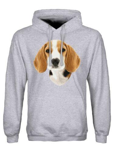 Hoodie Beagle Men/'s Grey