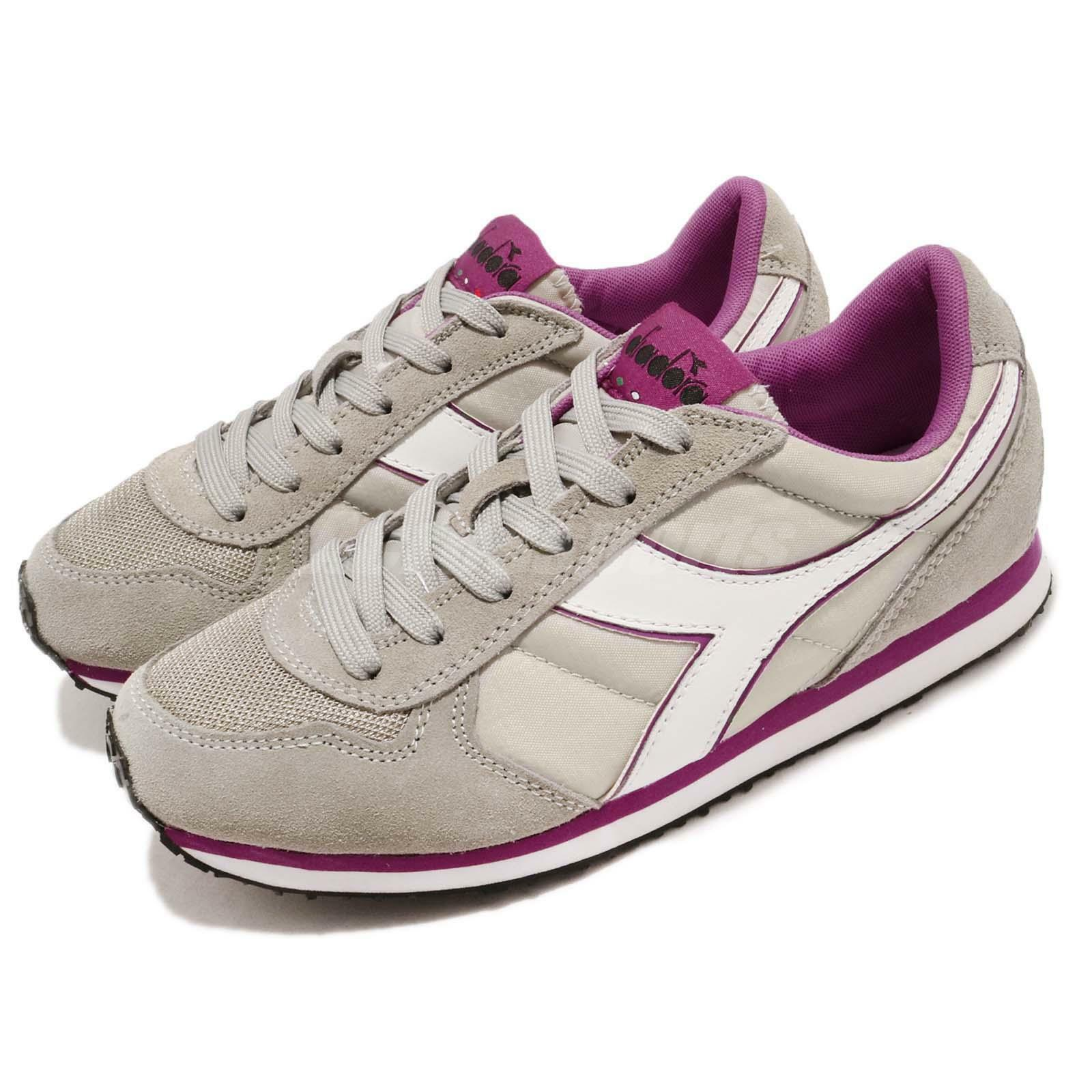 Diadora K Run Run Run Grey Purple White Uomo Running Casual Shoes  DA159554-C5907 5d44c9