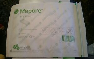 20-Mepore-Adhesive-Dressings-11cm-x-15cm-New-Sealed